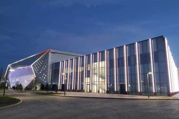 Легкоатлетический спортивный комплекс