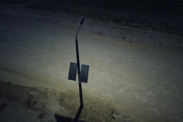 Автономное освещение для «АК Алтыналмас»