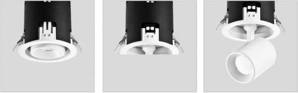 Светильники Downlight поворотные LI-1064-30